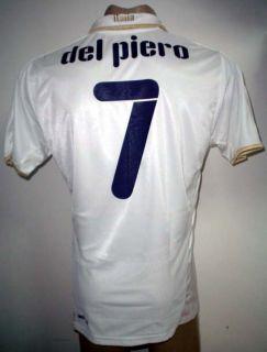 Original Puma Italy Away Soccer Jersey Del Piero 7 All Sizes