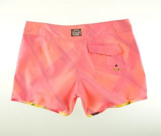 Fade Away Reversible Boardshorts Swim Trunks Women Jr Size s Waist 29
