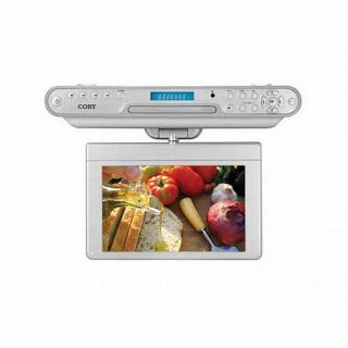 Coby 10 2inch TFT LCD Under Cabinet DVD CD Player with Digital TV and
