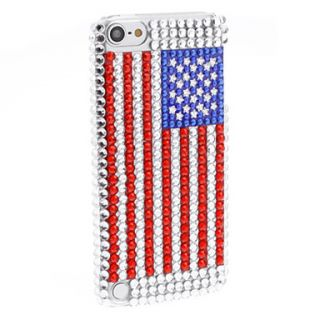 EUR € 4.31   Rhinestones Design US National Flag Pattern Hard Case