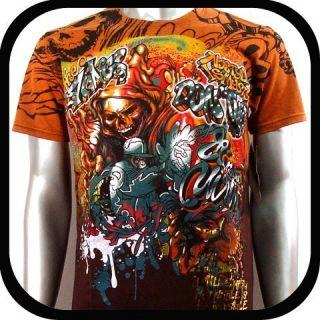 Mirth T Shirt Skate Board bmx Graffiti N46 Sz M Surf Street Indie Rock