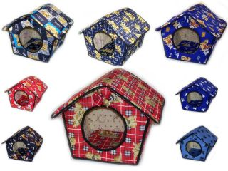 Medium Indoor Callapsible Dog Bed House Furniture 16