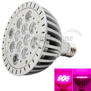 LED Grow Light Bulb E27 12W 85 265V 12LED R&B 1100LM for Indoor Plant