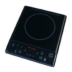 Induction Cooktop Black Burner New Cooking Pan Detection Ceramic Pate