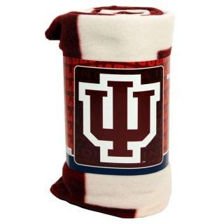 IU Indiana University Hoosiers NCAA Fleece Blanket Throw New Nice
