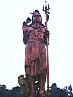 statue of Shiva near Indira Gandhi International Airport , Delhi