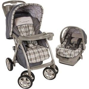 New Eddie Bauer Baby Stroller and Infant Car Seat Combo