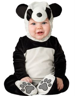 Baby Toddler Boys Girls Panda Bear Animal Onesie Halloween Costume