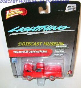 1993 93 Ford SVT Truck White Lightning Strike Diecast