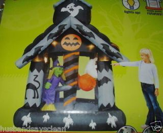 INFLATABLE HALLOWEEN ANIMATED ROATING HAUNTED HOUSE GHOST FRANKIE