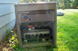 Hayward H250 Inground Pool Propane Heater Pick Up Only