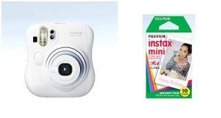 Instax Mini 25 Instant Film Camera White Colour 10 Instax mini film