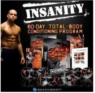 Insanity Workout 13 DVD Set Shaun T 60 Day Program Plus Bonus Items
