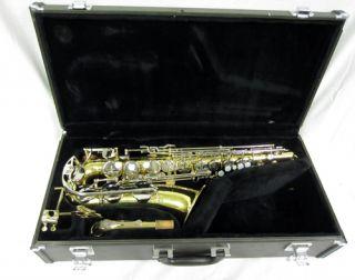 Alto Sax Yamaha Saxophone Woodwind Musical Instrument + Case in Good
