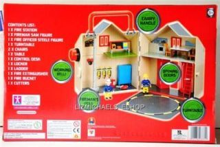 WOW Fireman Sam 13PCE Deluxe Fire Station Playset Fireman Sam Figure