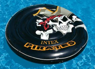 Intex Pirate Island Inflatable Adult Sized Swimming Pool Tube Float