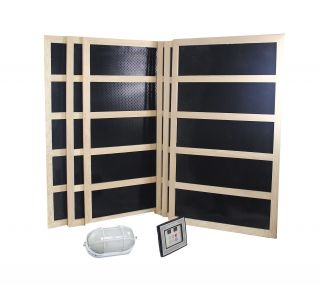 Complete Infrared Sauna Heater Package 1800 Watts