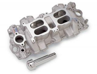 Performer RPM Dual Quad 348/409 Chevy Intake Manifold Large Port