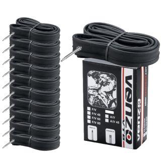 10x Venzo Road Bike Tire Inner Tubes 700x18 23c F V