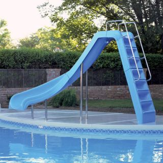 Interfab Wild Ride WRS CRB SS Inground Swimming Pool Slides Right