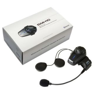 Sena SMH10 Bluetooth Motorcycle Intercom Headset Single Unit