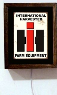 International Harvester Farm Equipment Tractor Dealer Sales Light