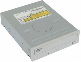 Desktop PC Internal IDE DVD ROM Computer Drive Beige
