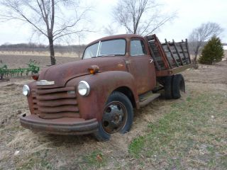 1948 Chevy Dually Farm Truck Parts Restore Rat Rod
