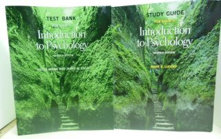 Kalats Introduction to Psychology Study Guide Test Bank Seventh Ed Two