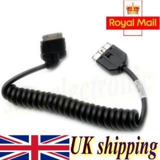 Sport LR4 Jaguar XF XK XJ Audio Interface Cable for iPod iPhone