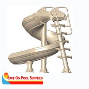 Interfab G Force Super Swimming Pool Water Flume Slide