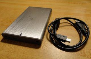 Iomega 2 5 SATA External Enclosure Laptop Hard Drive USB 2 0 HDD