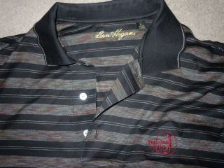 Ben Hogan Interlachen Country Club Mens Golf Polo Shirt Large Black