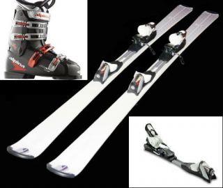 New Mens Intermediate Ski Package Skis Bindings Boots
