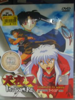 InuYasha Complete TV Series 1 167 End Japanese Anime Original New DVD