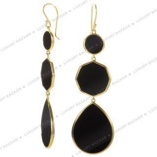 IPPOLITA Polished Rock Candy Onyx Gelatto Earrings