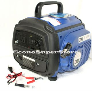 6hp 1000 Watt 63cc 2 Stoke Gas Powered Inverter Generator 1000W