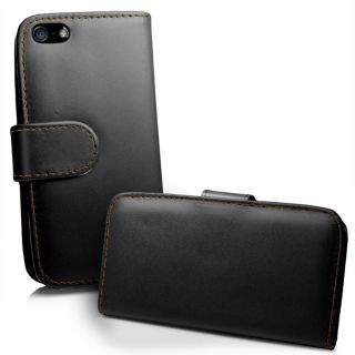 Leather Case Cover for Apple iPhone5 iPhone 5 5G + Screen Protector