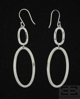 IPPOLITA Sterling Silver Graduated Open Oval Dangle Earrings