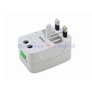 International World Travel Wall Charger Plug Adapter Power Converter