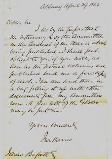 17 Pre Post Civil War Private Documents Autographs Collection 29