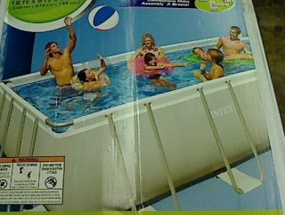 Intex Ultra Frame 18 by 9 Foot by 52 inch Rectangular Pool Set