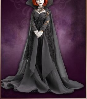 Ipswich Fog BLACK DRESS ONLY EVANGELINE GHASTLY CLOTHES GOWN CAPE