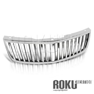 00 05 Chevy Impala Vertical Chrome Front Grill Grille