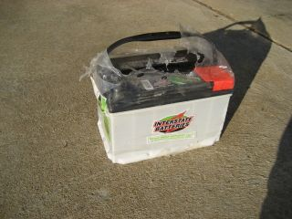 Interstate Battery 700 CCA Car Truck 875 CA MTP 91 Top Mount New