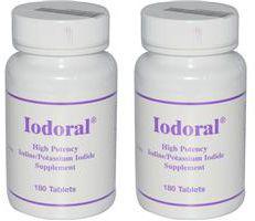 Iodoral Iodine Complex 12 5 mg 360 tabs TOTA Iodine Potassium