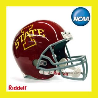 Iowa State Cyclones Football Helmet Full Size Riddell