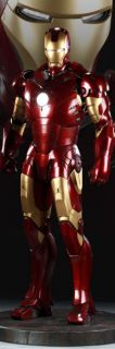 IRON MAN MARK III HALF SCALE 1 2 MAQUETTE STATUE SIDESHOW COLLECTIBLES