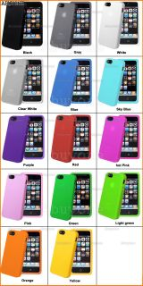 New Silicone Rubber Case Cover for Apple iPhone 5 5g