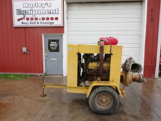 RAINBOW IRRIGATION WATER PUMP LP GAS V8 INTERNATIONAL ENGINE PORTABLE